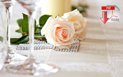 Download our wedding packages brochure